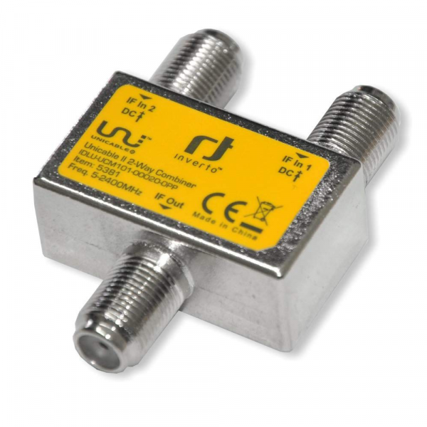INVERTO Unicable II IDLU-UCM 101 000200PP 2-fach Combiner 5-2400MHz