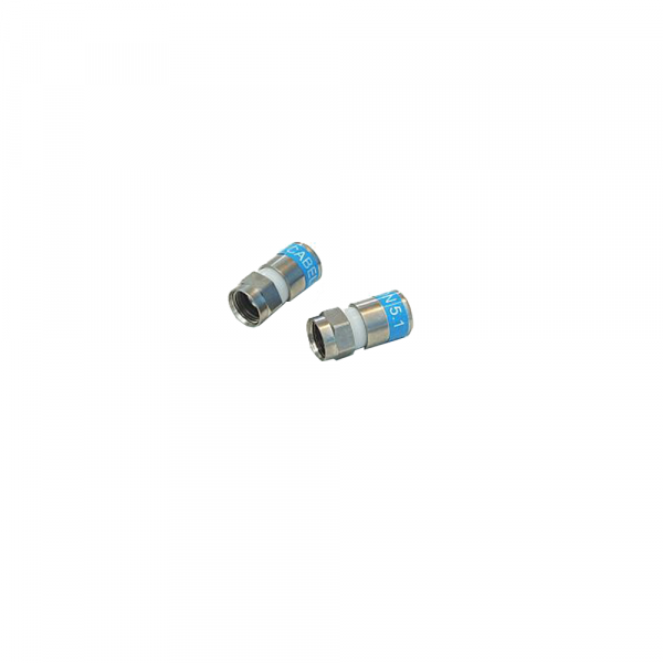 Cabelcon F-56-CX3 5.1 Short F- Kompressionsstecker